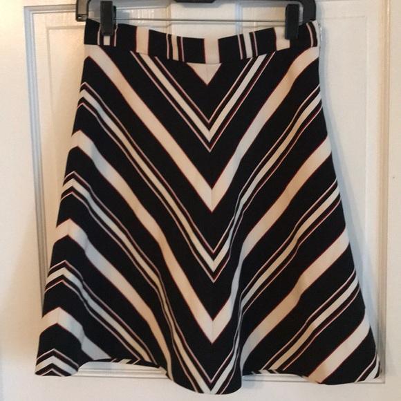 Zara Dresses & Skirts - Zara Summer 16 Parisian Striped Skirt